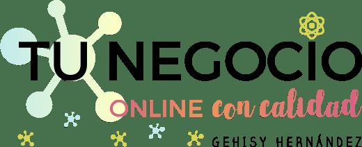 logo negocio online calidad GEHISY